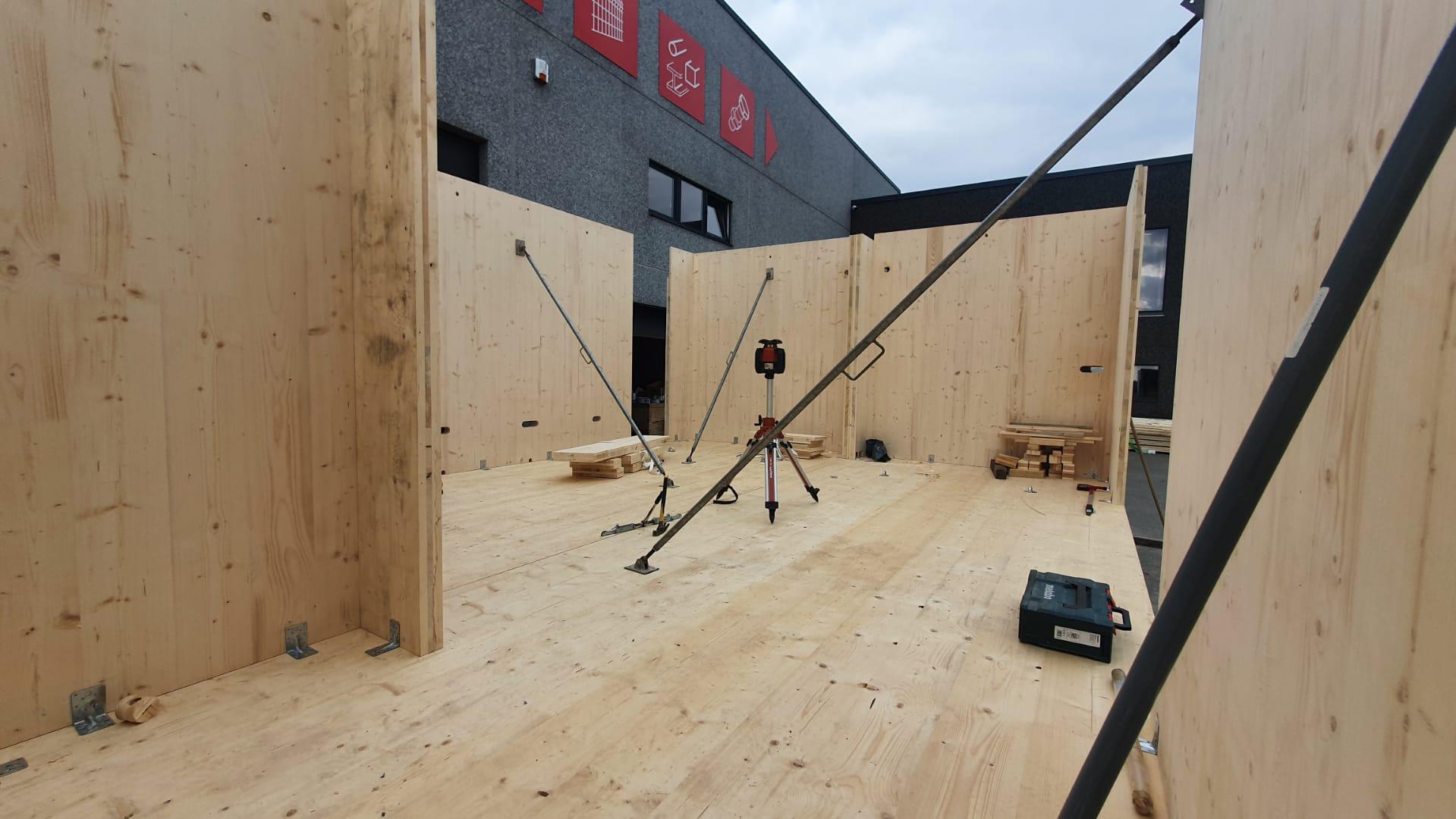 Construction de 2 modules de bureau (5)
